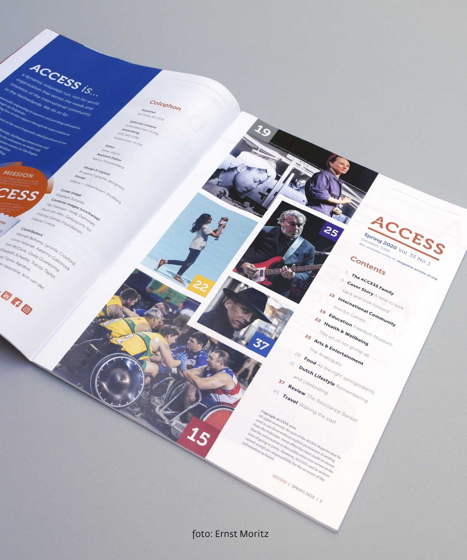 ACCESS magazine content M-space