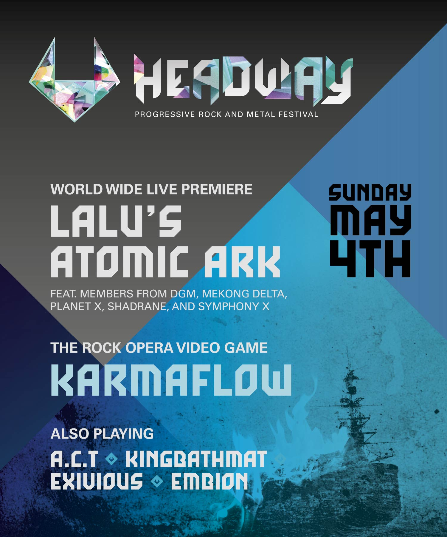 Headway fest poster M-space