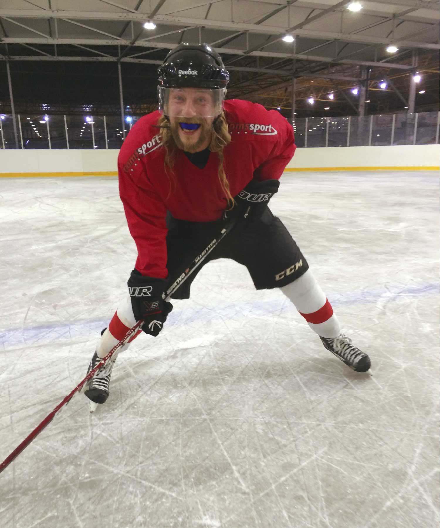 Marek ijshockey M-space