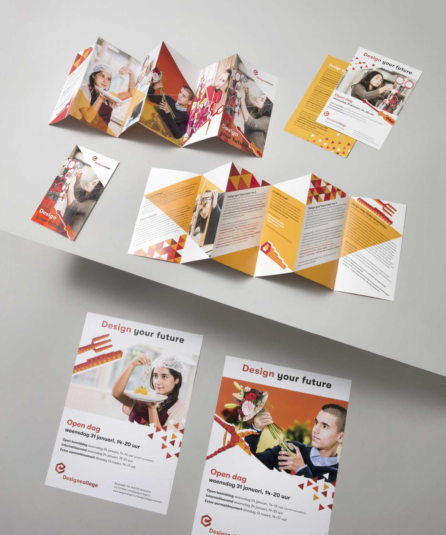 RDC brochure flyer M-space