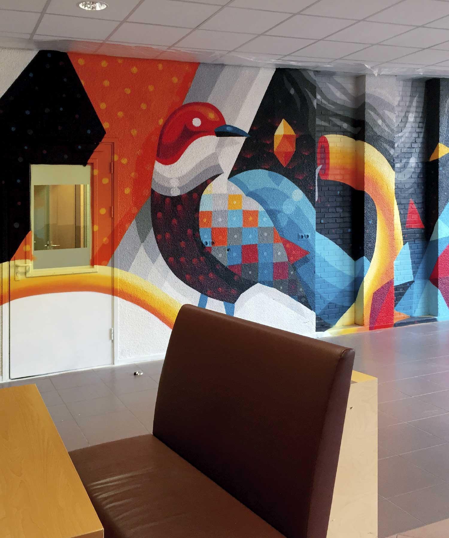 RDC mural 2 M-space