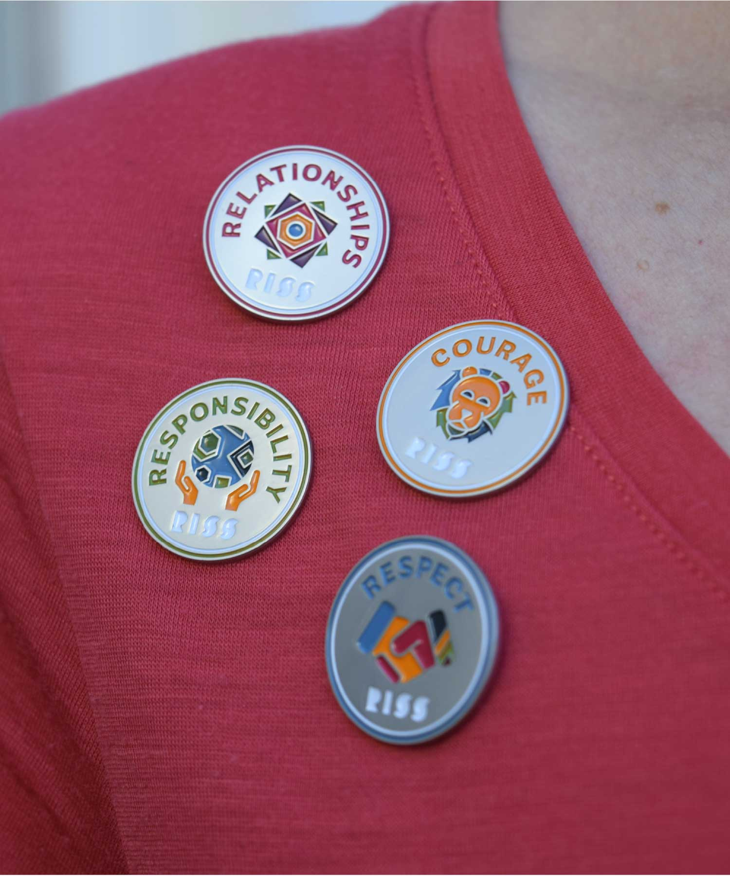 RISS Core Values Pins M-space