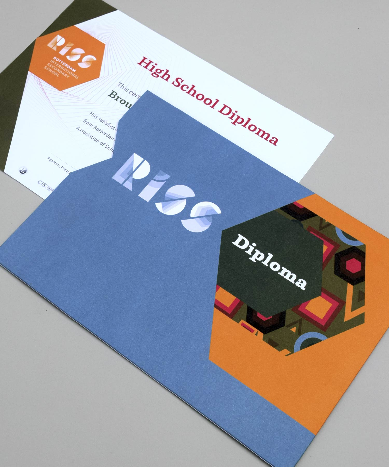 RISS Diploma Sleeve M-space