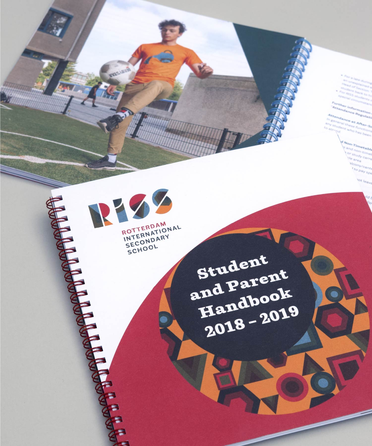 RISS Student and Parent Handbook M-space