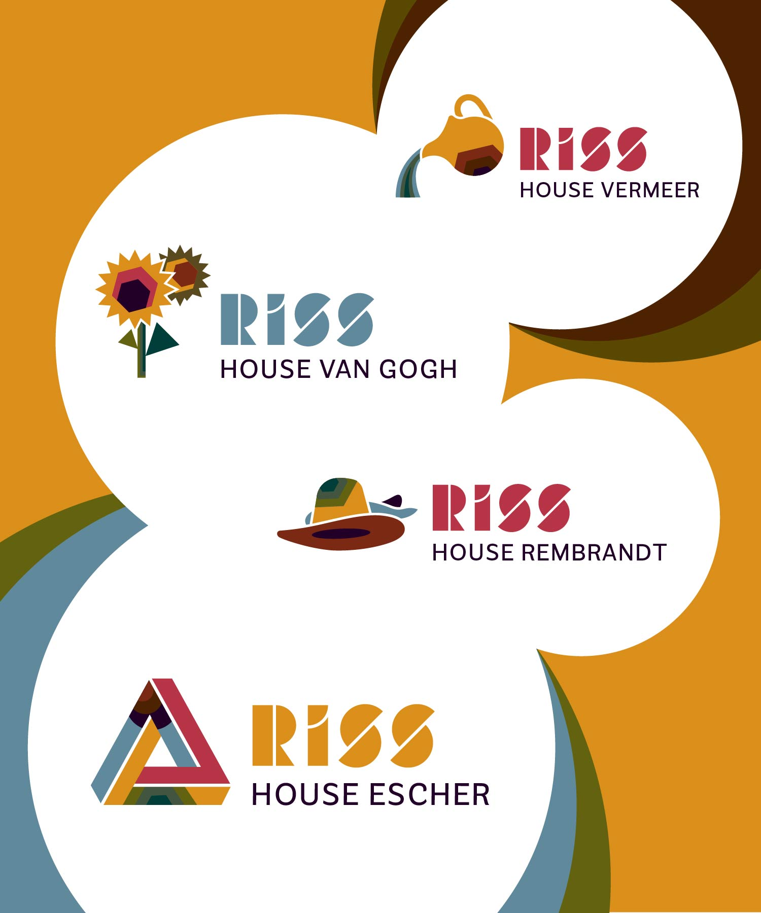 RISS icons school houses M-space