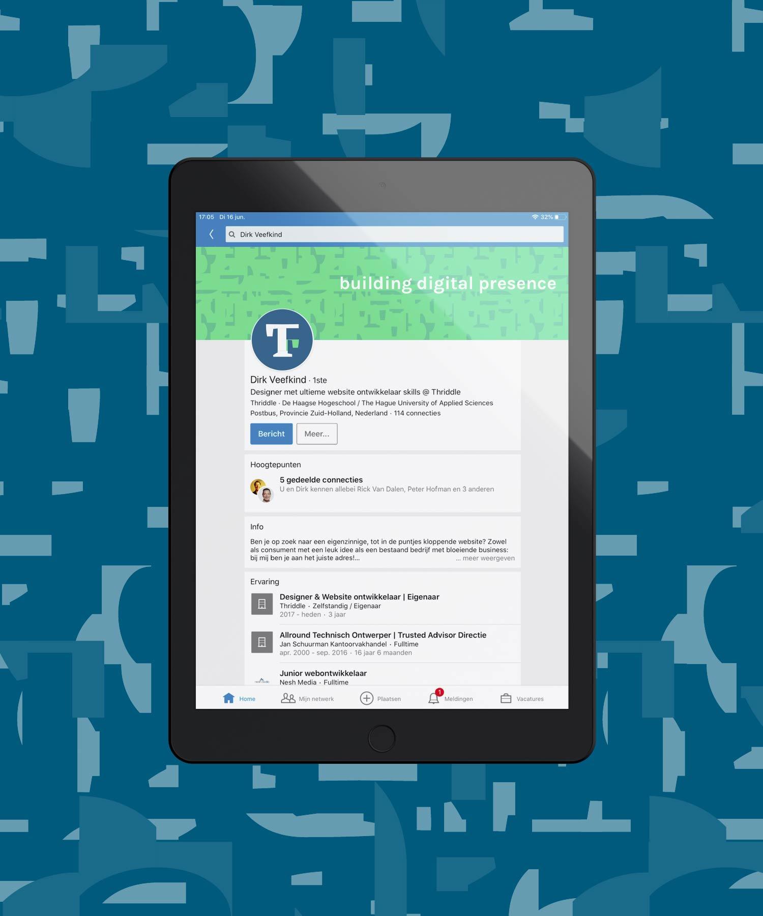 Thriddle socialmedia M-space