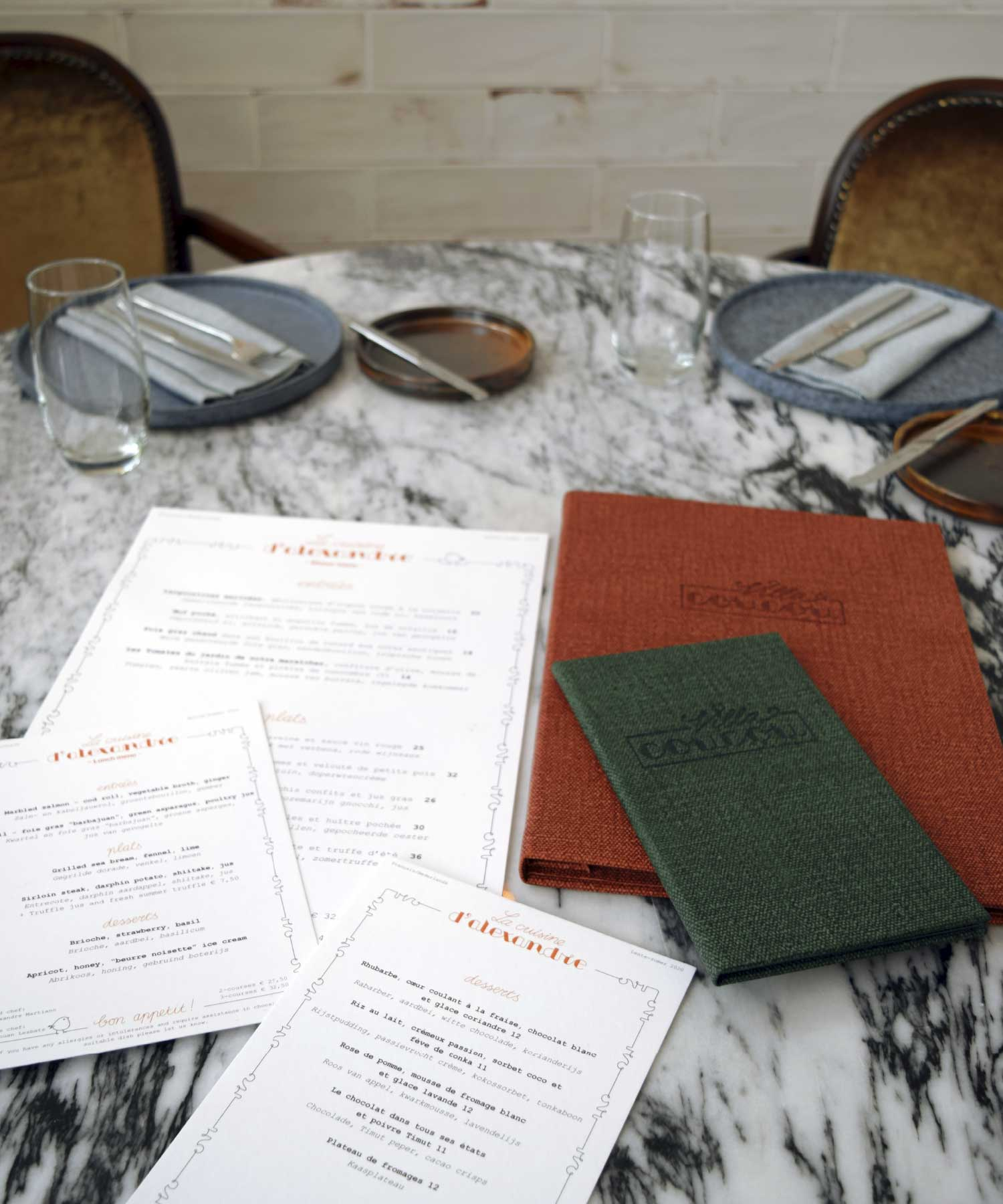 Villa Coucou gedekte tafel M-space