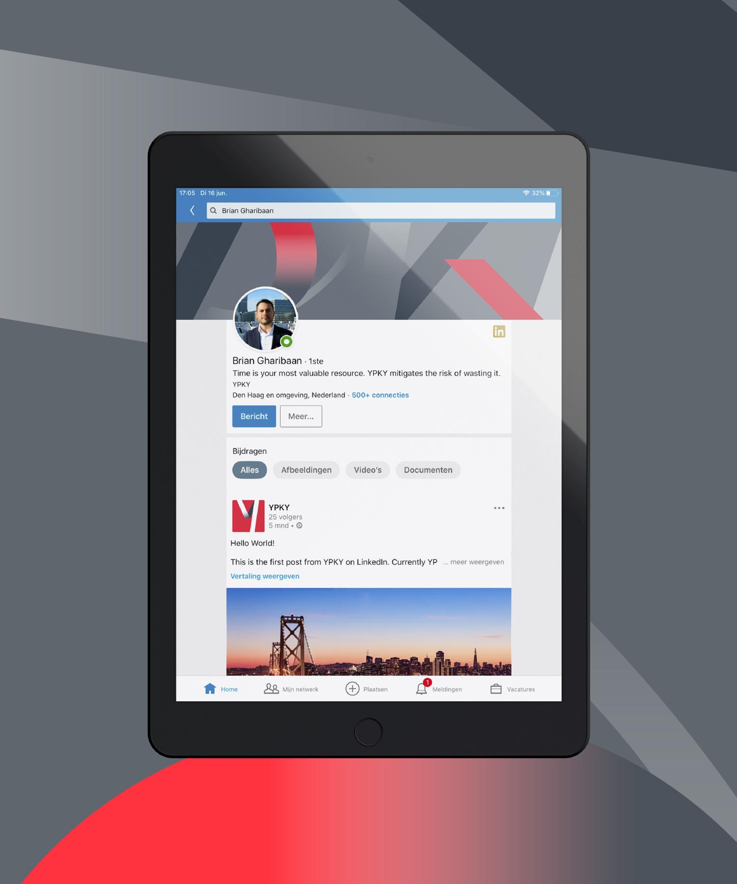 YPKY LinkedIn M-space