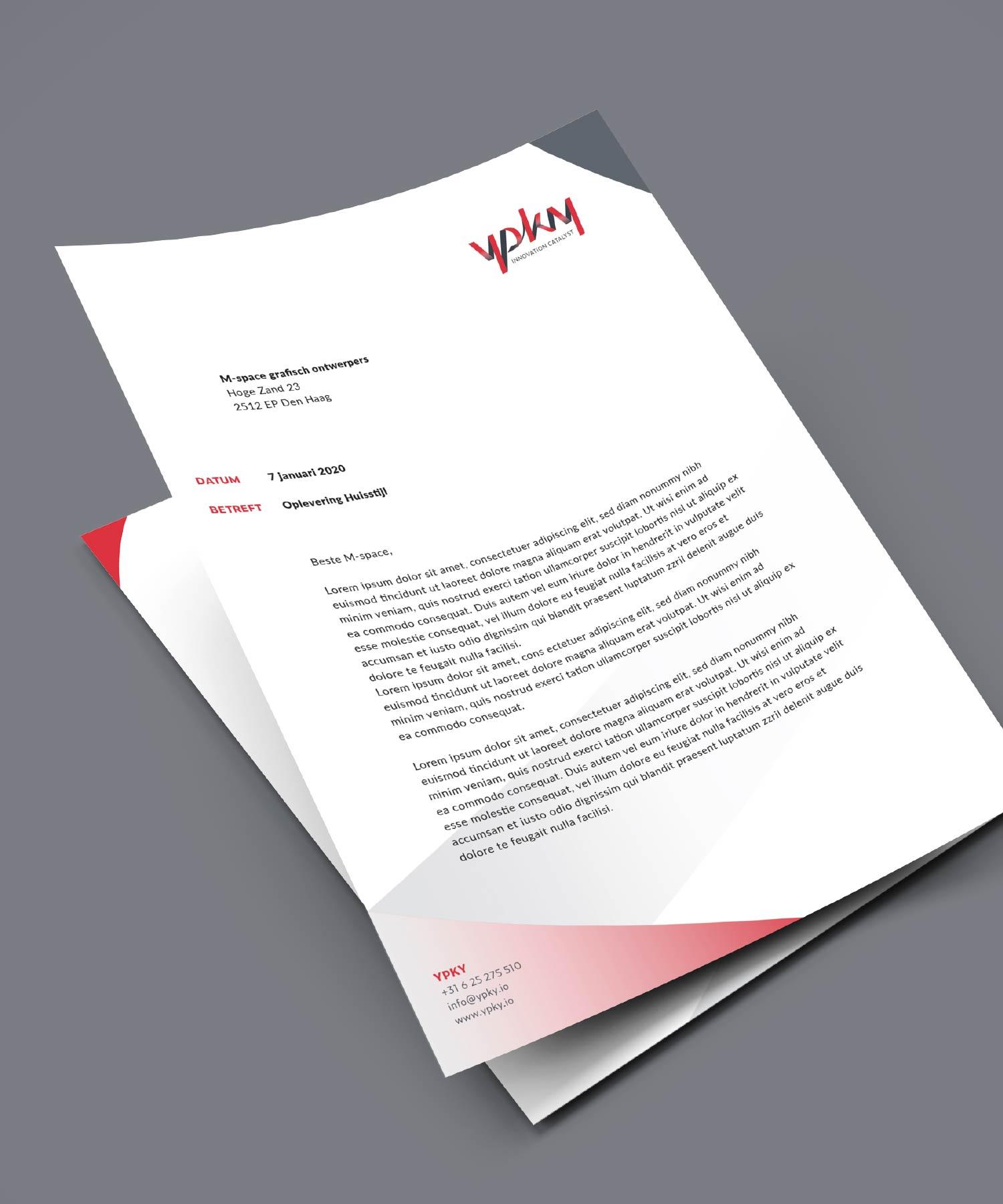 YPKY briefpapier M-space
